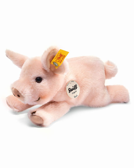 Little Friend Sissi Piglet Stuffed Animal