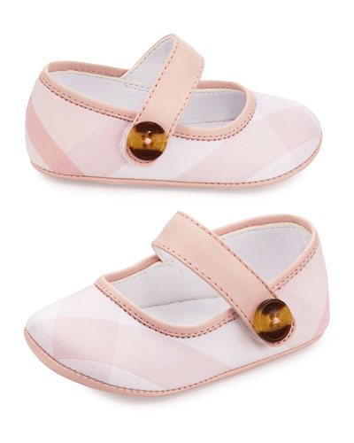 Baldwyn Check Mary Jane, Pink, Infant