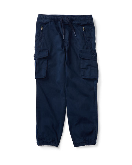 Ralph Lauren Childrenswear Chino & Terry Cargo Pants,