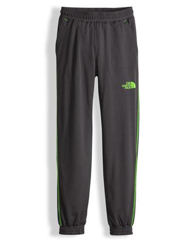 Mak Jersey Track Pants, Gray, Size XXS-L