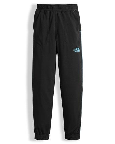 Mak Jersey Track Pants, Black, Size XXS-L