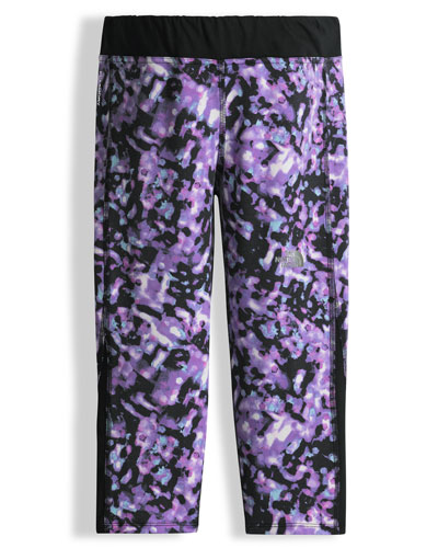 Pulse Bokeh Capri Pants, Purple, Size XXS-L