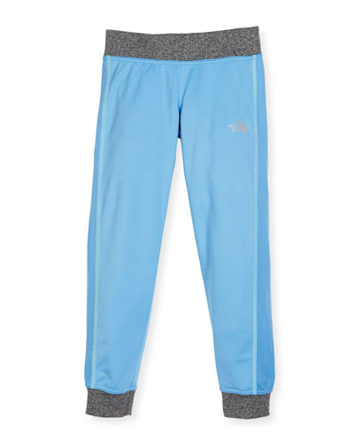 Reactor Lightweight Jersey Track Pants, Blue, Size XXS-L
