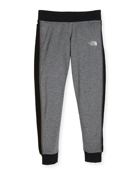 Reactor Lightweight Jersey Track Pants, Gray, Size XXS-L