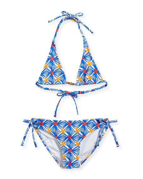 Milly Minis Mosaic Fiji Two-Piece Swimsuit, Sizes 8-14