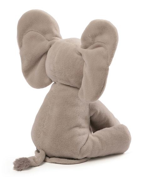 Flappy the Elephant Animated Plush, Gray