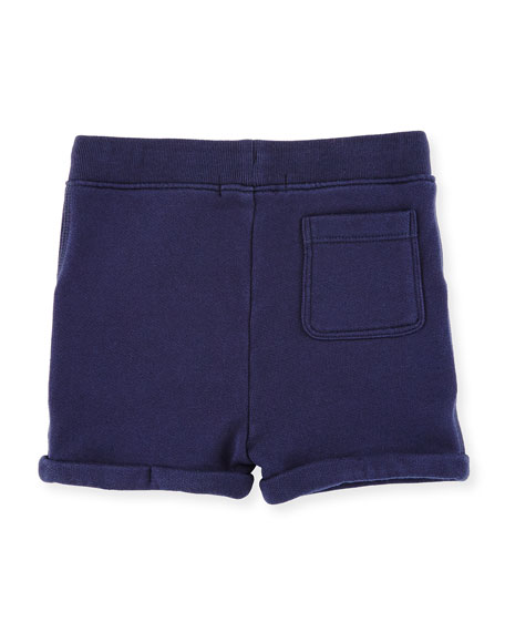 Quinten Hooded Sweatshirt w/ Shorts, Navy, Size 6M-3
