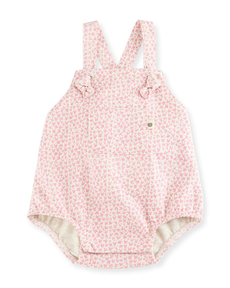 """""""Jazzy"""" Lightweight Terry Bunny Playsuit, Pink, Size 0-24 Months"""