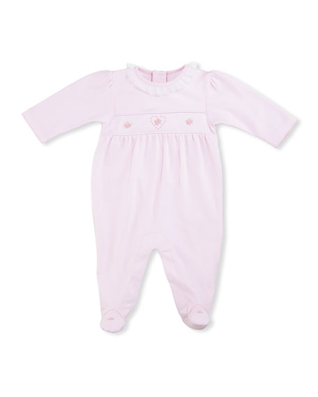 Kissy Kissy Heart to Heart Footie Pajamas, Pink,