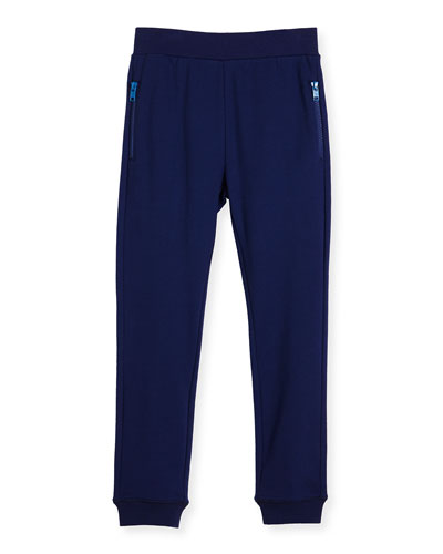 Joseph Basic Sweatpants, Blue, Size 4-10