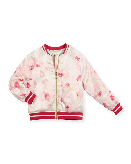 kate spade new york desert rose satin varsity
