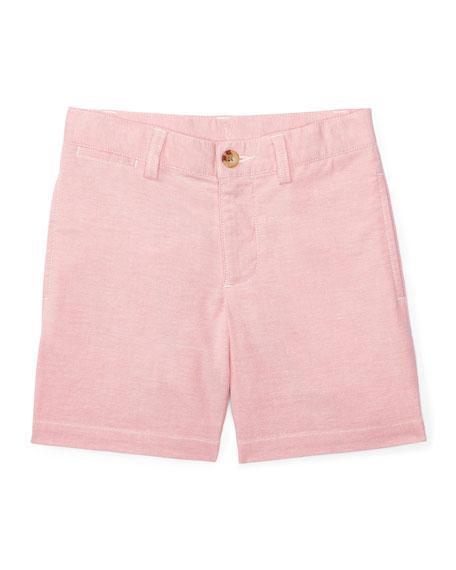 Ralph Lauren Childrenswear Suffield Stretch Oxford Shorts, BSR