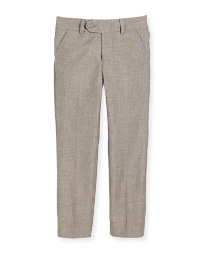 Slim Suit Pants  Light Gray  Size 2-14