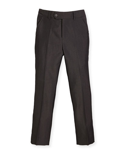 Slim Suit Pants  Charcoal  Size 4-14