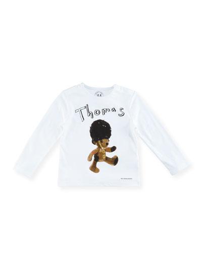 Boys' Thomas Bear T-Shirt, Size 6M-3Y
