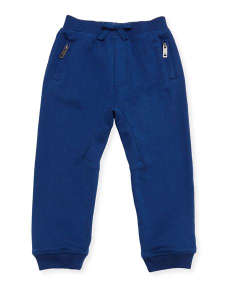 Phill Cotton Track Pants, Blue, Size 6M-3T