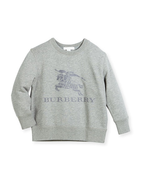 Boys' Mini Tom Logo Embroidery Sweatshirt, Size 4-14