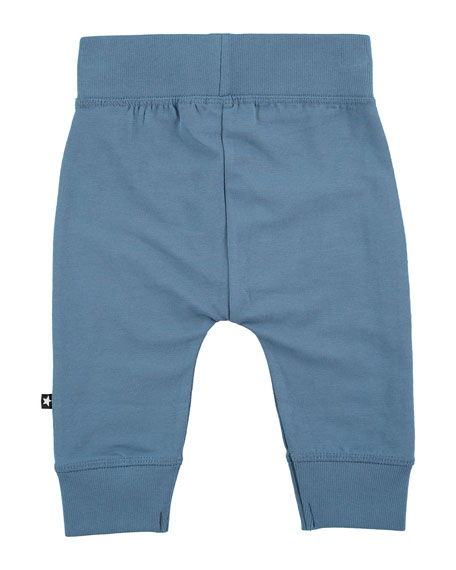 Sammy Solid Track Pants, Stellar Blue, Size 12-24 Months