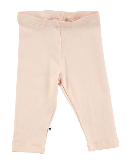 Molo Nette Solid Stretch Leggings, Blush, Size 12-24