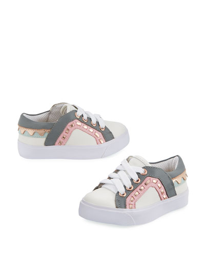 Riko Mini Low-Top Sneaker, Size 5T-2Y