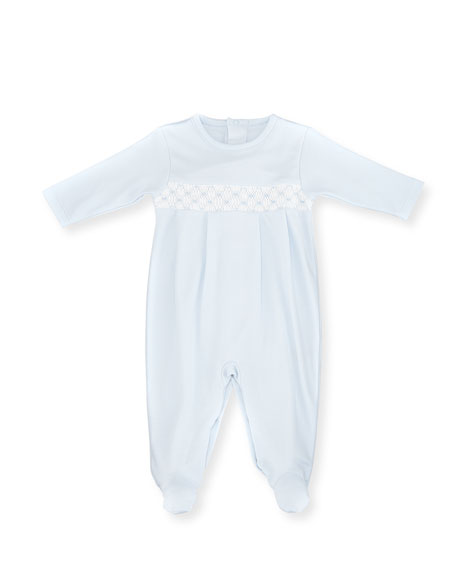 CLB Fall Pima Footie Pajamas, Light Blue, Size Newborn-9 Months