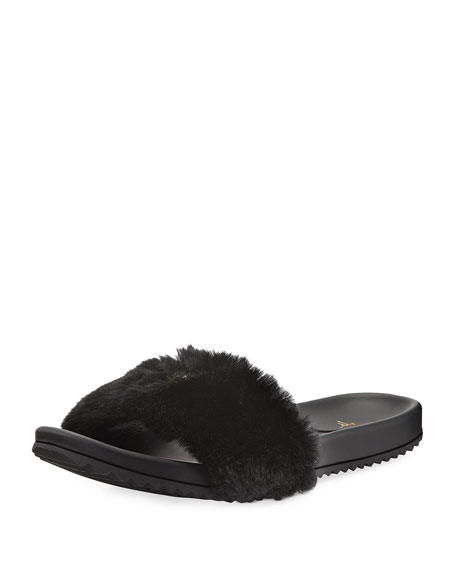 Giuseppe Zanotti Girls' Rimba Slide Sandals, Youth