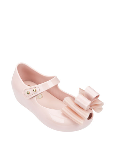 Mini Melissa Ultragirl Sweet III Tiered-Bow Mary Jane