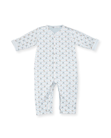 Reversible Pima Coverall, Size 3-24 Months