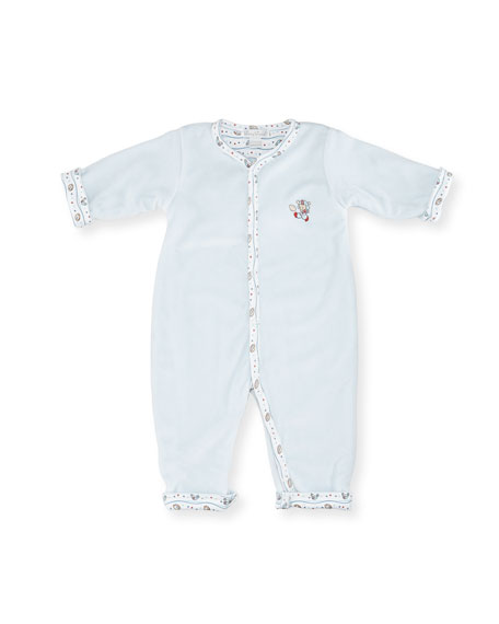 Kissy Kissy Reversible Pima Coverall, Size 3-24 Months
