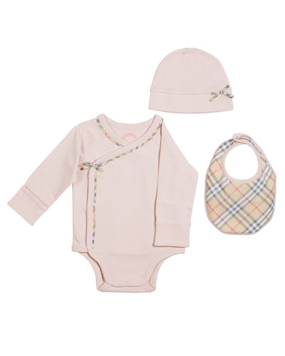 Kallie 3-Piece Layette Set, Size 1-6 Months