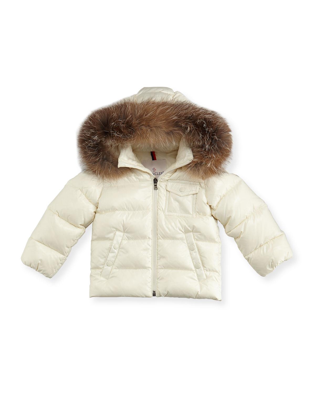 f1a9fa3c7 Moncler K2 Hooded Fur-Trim Puffer Coat