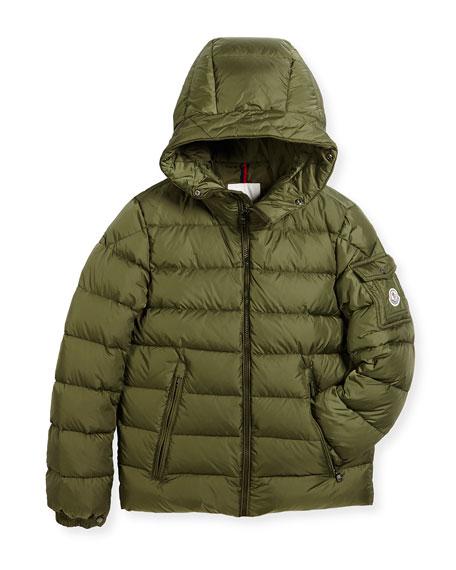 Boys' Byron Hooded Puffer Coat, Size 8-14