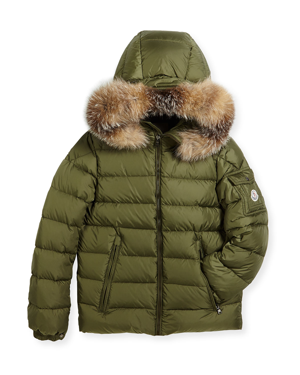 e7d2886c6 Moncler Boys  Byron Hooded Puffer Coat