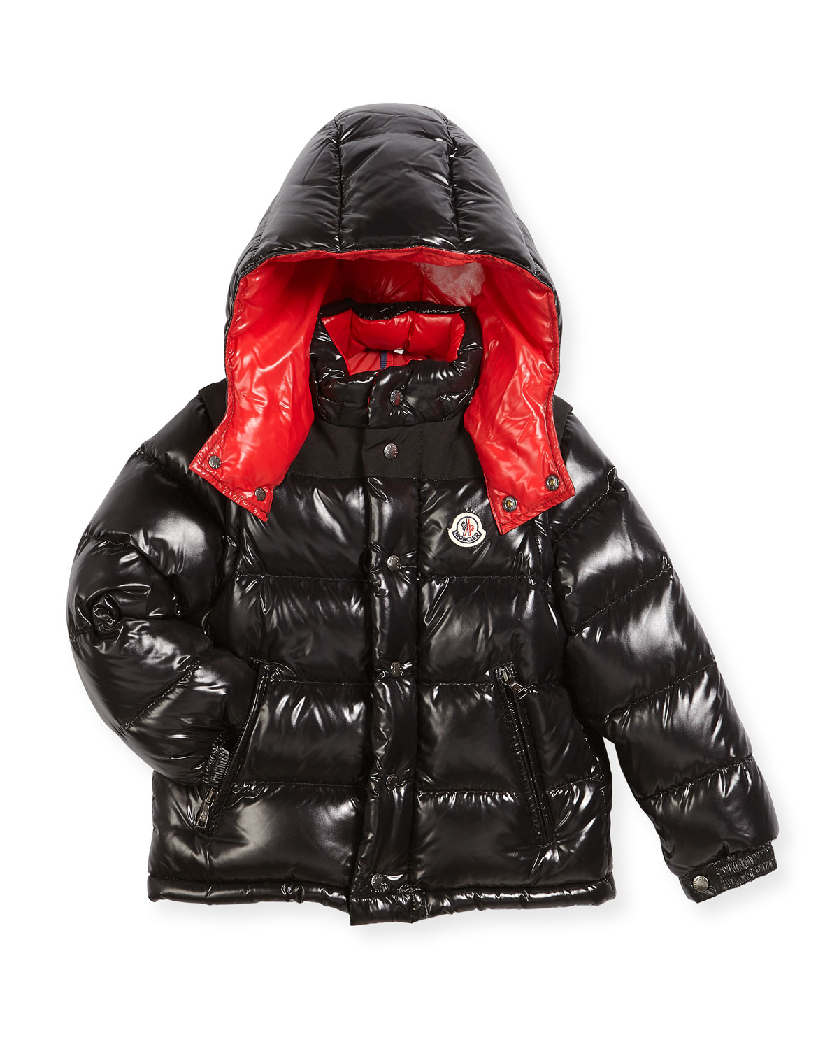 3dbe53b3f081 Moncler Andersen Quilted Coat w  Contrast Lining