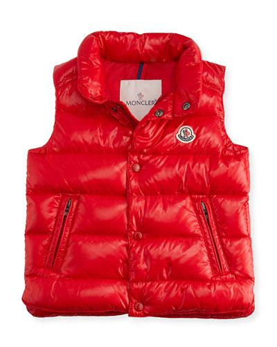 Bernard Puffer Vest, Size 12M-3