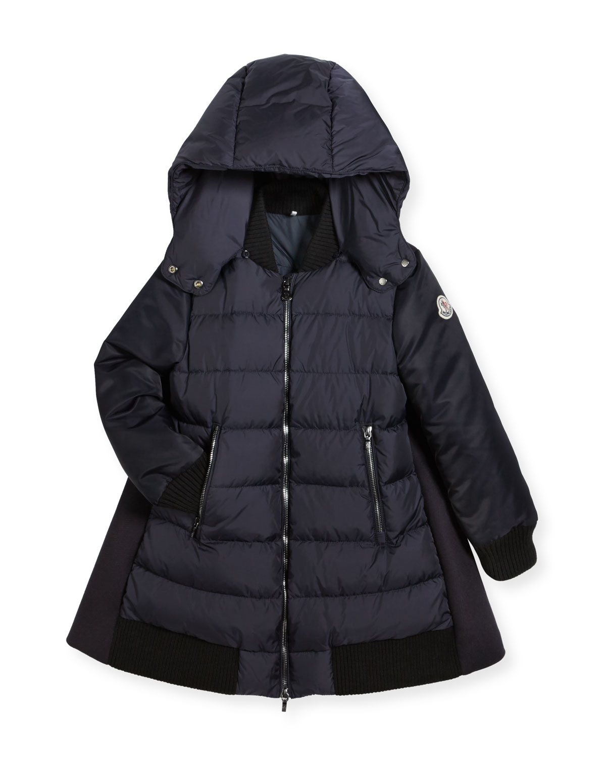 ff633432b Moncler Blois Quilted and Wool-Blend Puffer Jacket