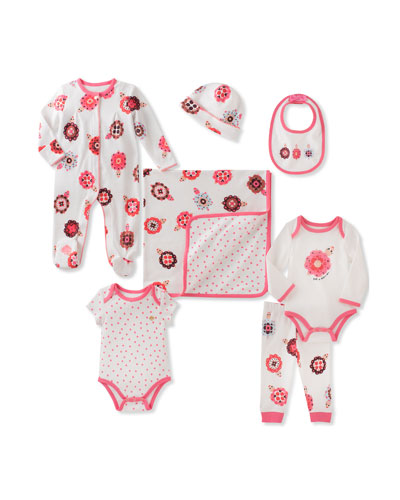 7-Piece Started Layette Set, Size 3-9 Months