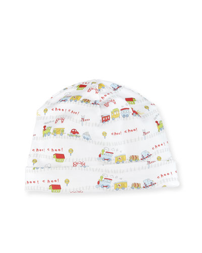 Red Caboose Pima Baby Hat