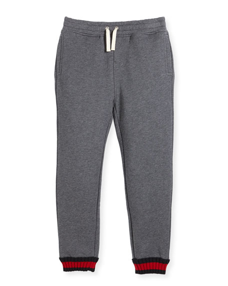 Gucci Boys' Cotton Jogger Pants, Size 4-12