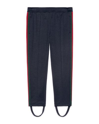 Stirrup Web Jogger Pants, Size 4-12