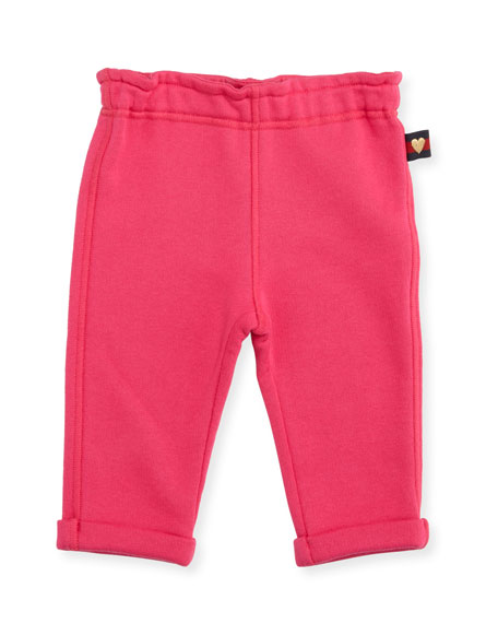 Gucci Felted Jersey Track Pants, Size 6-36 Months