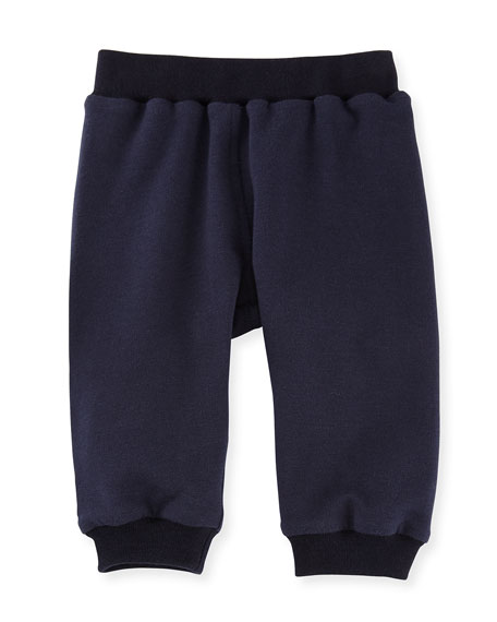 Fendi Logo Pocket Jogger Sweatpants, Size 12-24 Months