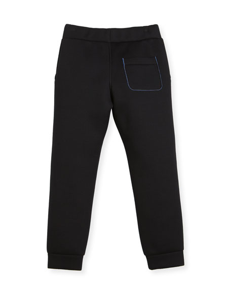 Boys' Neoprene Jogging Pants, Size 6-8