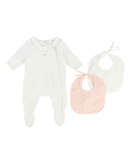 Chloe Footie Pajamas Gift Set, Size 3-9 Months