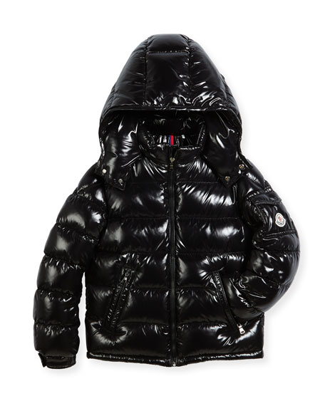 Moncler Bady Puffer Coat, Size 4-6