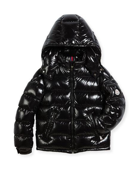 Moncler Bady Puffer Coat, Size 4-6