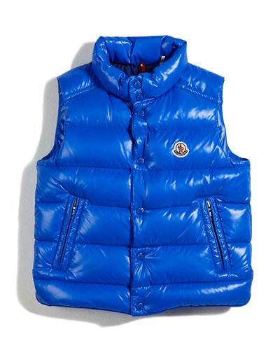 Tib Puffer Vest, Size 4-6