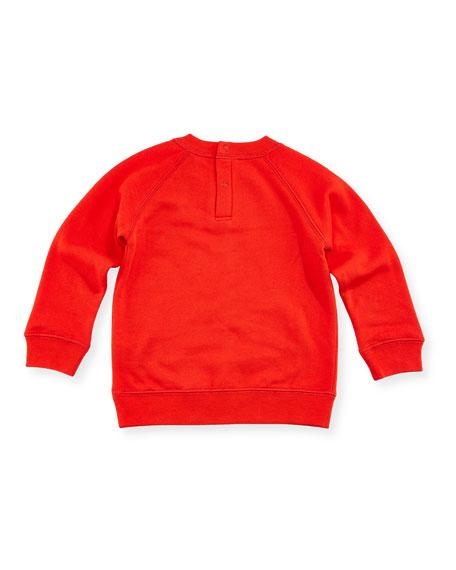 Betty Swan Graphic Sweatshirt, 12-36 Months