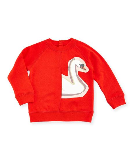 Stella McCartney Betty Swan Graphic Sweatshirt, 12-36 Months