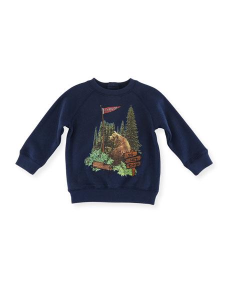Stella McCartney Billy Bear Graphic Sweatshirt, Size 12-36